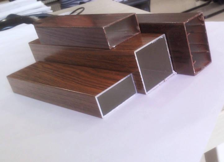 水转印氟碳木纹铝型材